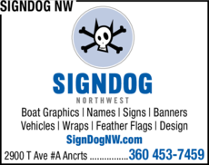 Yellow Pages Ad of Signdog Nw