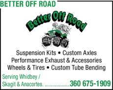 Print Ad of Better Off Road