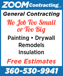 Print Ad of Zoom Contracting Llc