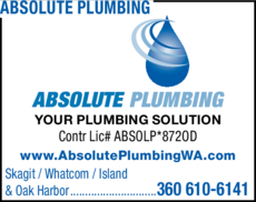 Print Ad of Absolute Plumbing