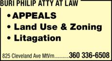 Print Ad of Buri Philip Atty At Law