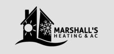 Print Ad of Marshall's Heating & Ac