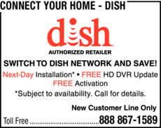 Print Ad of Connect Your Home - Dish