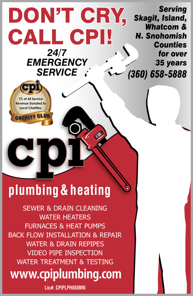 Print Ad of Cpi Plumbing & Heating