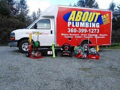 Photo uploaded by About Plumbing Inc