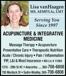 Yellow Pages Ad of Acupuncture & Integrative Medicine