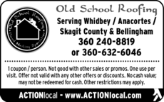 Print Ad of Old School Roofing