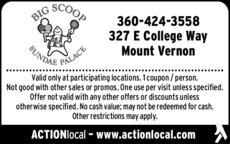 Print Ad of Big Scoop Sundae Palace & Restaurant