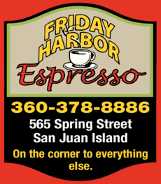 Yellow Pages Ad of Friday Harbor Espresso