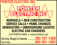 Print Ad of Pointer Electric Inc