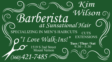 Yellow Pages Ad of Barberista