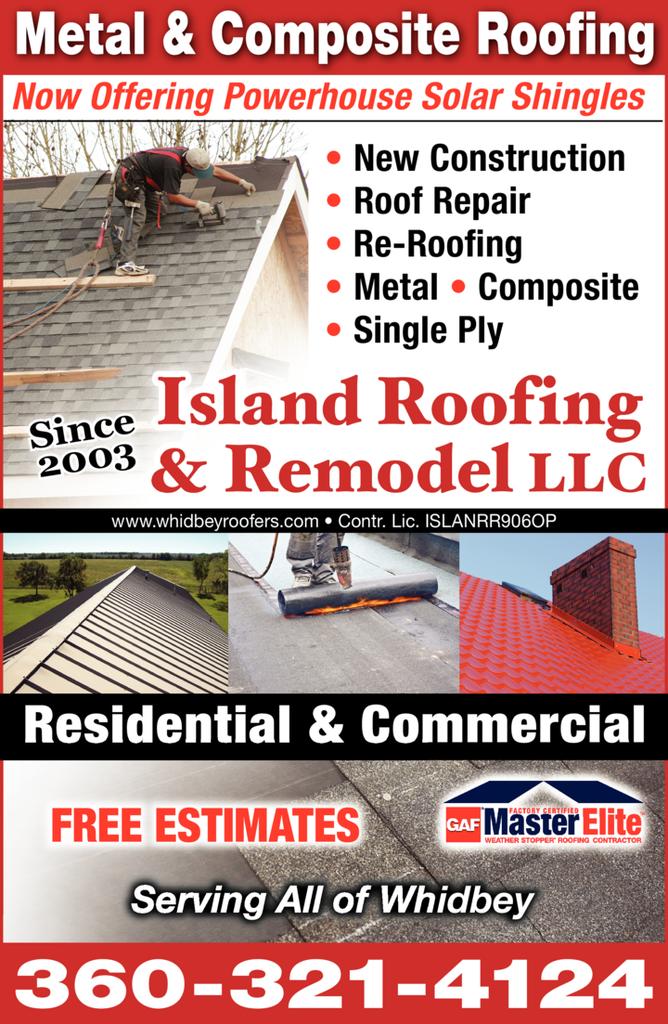 Island Roofing Remodel Llc Clinton Wa Skagit Directory
