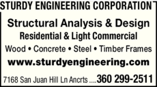 Yellow Pages Ad of Sturdy Engineering Corp